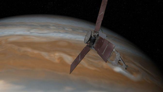 Juno Jupiter'de