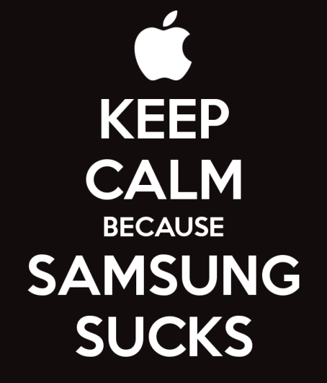 keep-calm-because-samsung-sucks