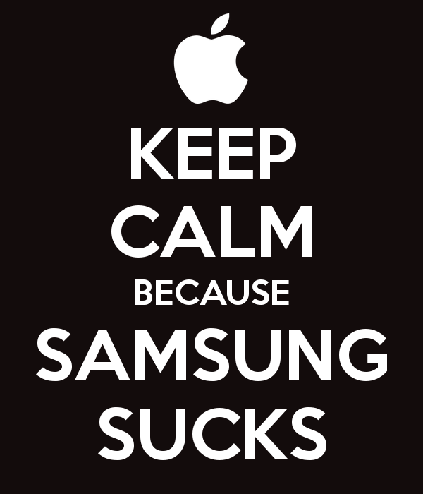 keep-calm-because-samsung-sucks